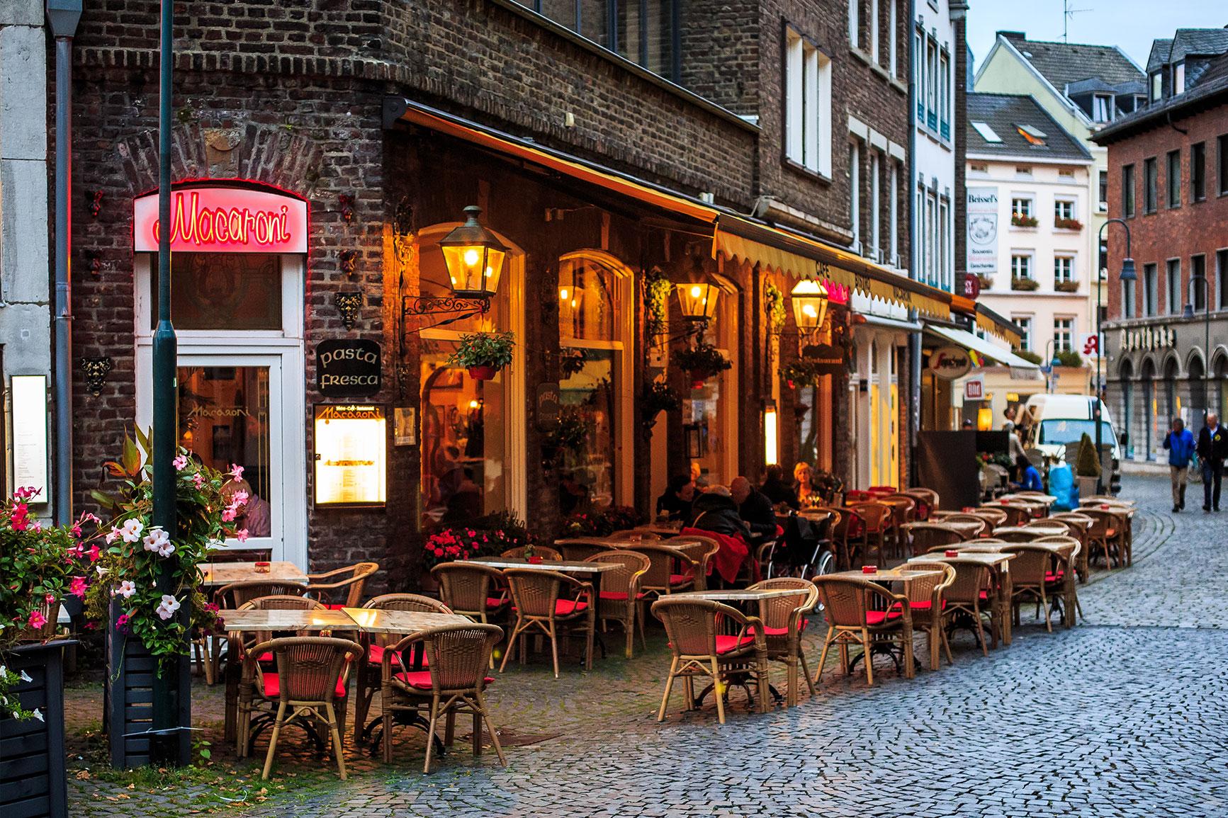 Italienisches Restaurant Mannheim Innenstadt